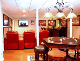 Man Cave Ideas Small Spaces