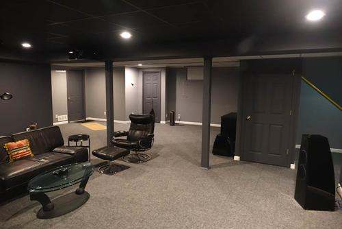 see what your basement can become with total basement finishing